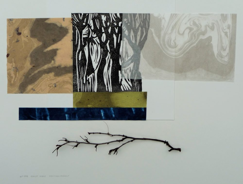 Forest Series VI - Dominique Prevost
